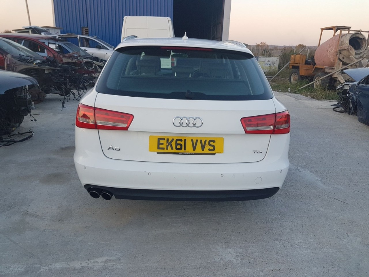 Fuzeta stanga fata Audi A6 4G C7 2012 variant 2.0 tdi