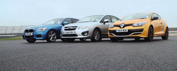 FWD vs. RWD vs. AWD: Ce alegem pentru un hot-hatch?