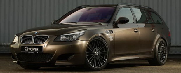 G-Power dezvaluie noul M5 Hurricane RS Touring, cel mai rapid break din Univers!
