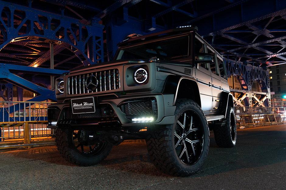 G63 Black Bison