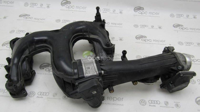 Galerie admisie + clapeta acceleratie Audi A6 4G / A7 3,0Tdi Cod OEM 059129711CF - 059145950AF