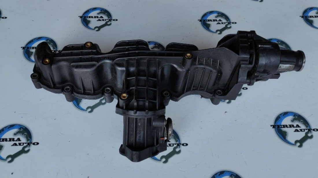 Galerie admisie cu clapete VW Touran 1.6 TDI 77 KW 105 CP cod motor CAY