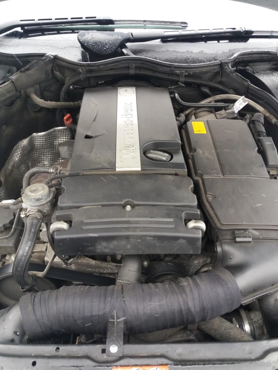 Galerie evacuare Mercedes C-CLASS Coupe Sport CL203 2005 coupe 1.8 kompressor