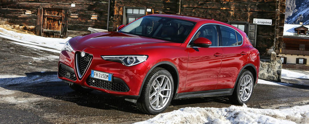 GALERIE FOTO: Alfa Romeo lanseaza oficial SUV-ul Stelvio in Europa