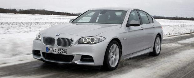 Galerie Foto: BMW lanseaza noi imagini cu recent-lansatul M550 xDrive