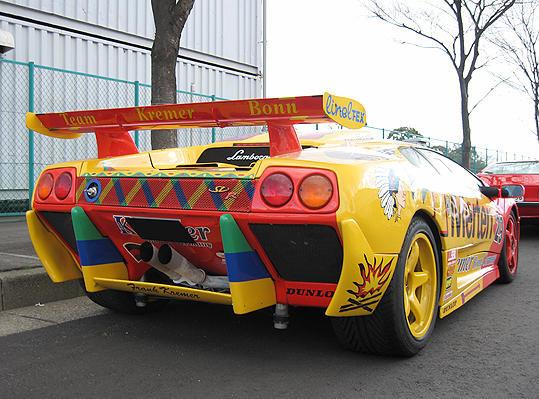 Galerie Foto: Cele mai ciudate Lamborghini-uri isi dau intalnire intr-o parcare din Japonia
