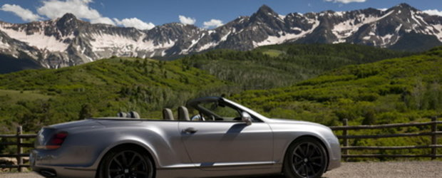 Galerie Foto: Continental Supersports Convertible viziteaza Colorado