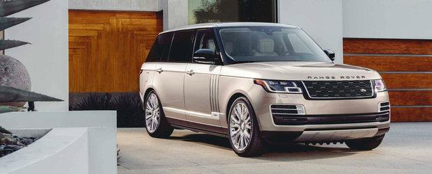 GALERIE FOTO cu cel mai luxos Range Rover de pana acum. Sa fie asta marele rival pregatit pentru Bentayga?
