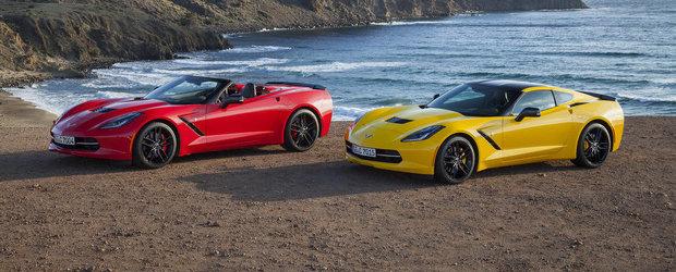 Galerie Foto: Cum arata noul Corvette Stingray in versiunea europeana