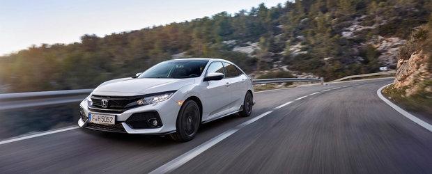 GALERIE FOTO: Honda lanseaza noul Civic in Europa