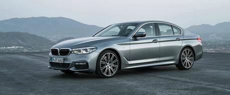 GALERIE FOTO: Intra AICI si descopera noul BMW Seria 5 G30 in peste 200 de imagini oficiale