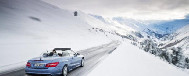 Galerie Foto : Mercedes E-Class Cabrio