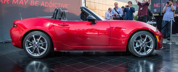 GALERIE FOTO: Noua Mazda MX-5 e aici si arata incredibil de bine