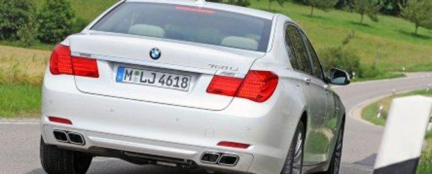 Galerie Foto: Noul BMW 760Li se prezinta in detaliu