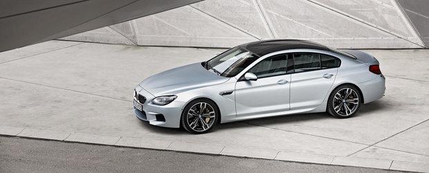 Galerie Foto: Noul BMW M6 Gran Coupe ni se dezvaluie in toata splendoarea sa