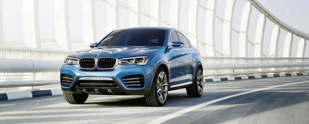 Galerie Foto: Noul BMW X4 Concept se prezinta in detaliu