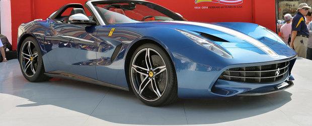 GALERIE FOTO: Noul Ferrari F60 America ni se arata in primele imagini reale