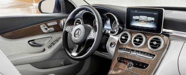 GALERIE FOTO: Noul Mercedes C-class ni se prezinta in detaliu