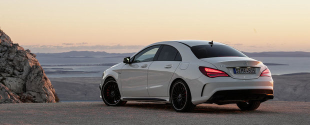 Galerie Foto: Noul Mercedes CLA45 AMG ni se dezvaluie in toata splendoarea sa