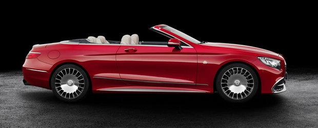 GALERIE FOTO: Noul Mercedes-Maybach S650 Cabriolet este un lup in blana de oaie... de lux