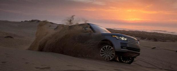 Galerie Foto: Noul Range Rover pozeaza in Maroc