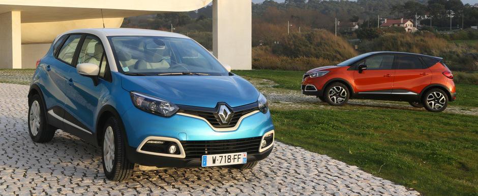 Galerie Foto: Noul Renault Captur se prezinta in detaliu