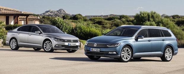 GALERIE FOTO: Peste 100 de imagini cu noul Volkswagen Passat