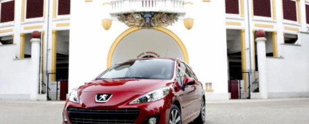 Galerie foto: Peugeot restilizeaza Peugeot 207 RC, CC Coupe, 207 Hatch si SW