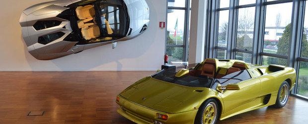 GALERIE FOTO: Vizita la muzeul Lamborghini din Sant'Agata Bolognese