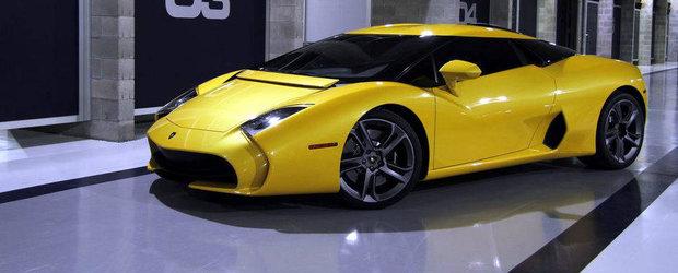 GALERIE FOTO: Zagato ne arata cel de-al doilea Lamborghini 5-95 construit
