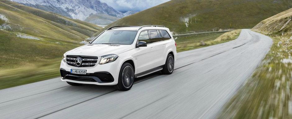 GALERIE VIDEO: Mercedes prezinta noul GLS in detaliu si actiune