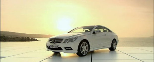 Galerie Video: Noul Mercedes E-Class Coupe in detaliu