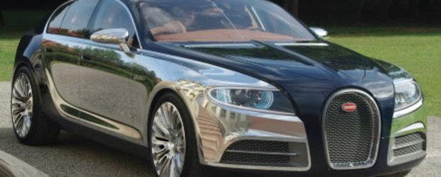 Galibier Concept - Bugatti in patru usi