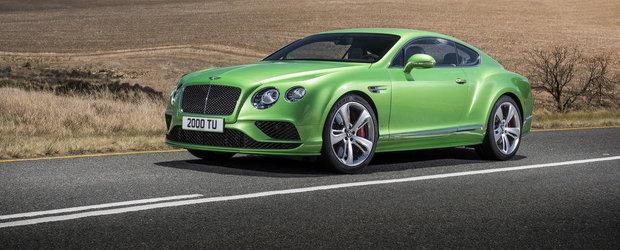 Gama Bentley Continental primeste un facelift... cu mustata