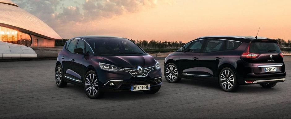 Gama Renault Scenic are un aer mai premium multumita noii echipari Initiale Paris