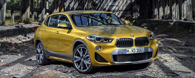 Gama X de la BMW completata cu un nou model. X2 lansat oficial cu motor de 2.0 litri si tractiune fata