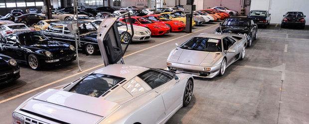 Garaje de vis: Uite care sunt cele mai mari colectii private de autoturisme de lux!