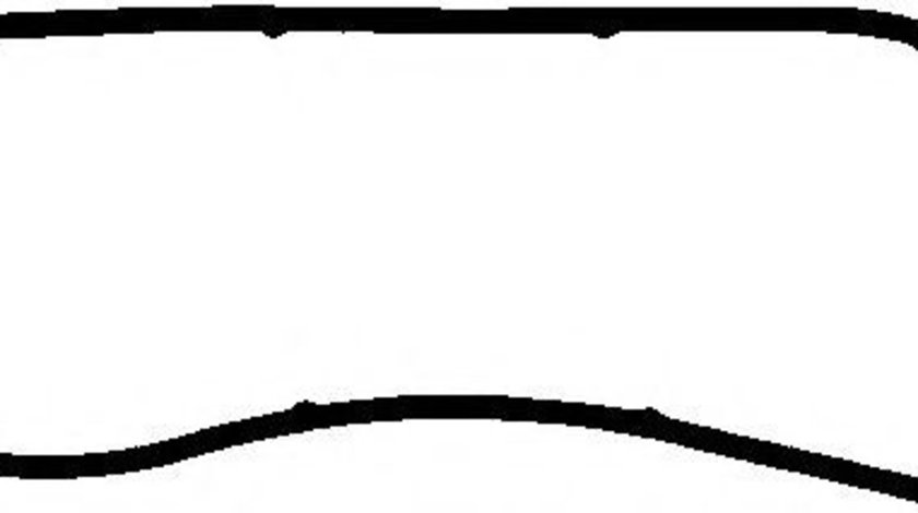 Garnit.etansare, capac (carter motor) PORSCHE PANAMERA (970) (2009 - 2016) ELRING 006.051 piesa NOUA