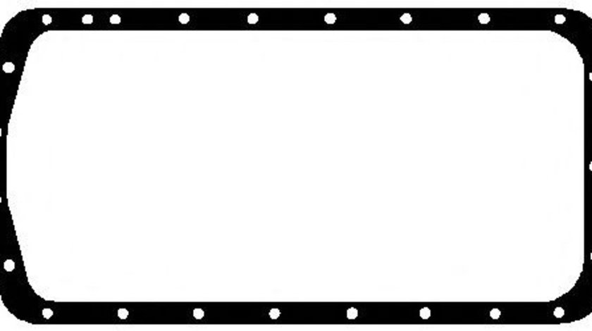 Garnitura baie ulei CITROEN XANTIA (X2) (1998 - 2003) ELRING 590.984 piesa NOUA