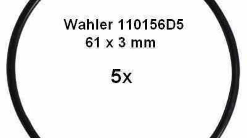 Garnitura conducta supapa-AGR AUDI A4 8E2 B6 WAHLER 110156D5