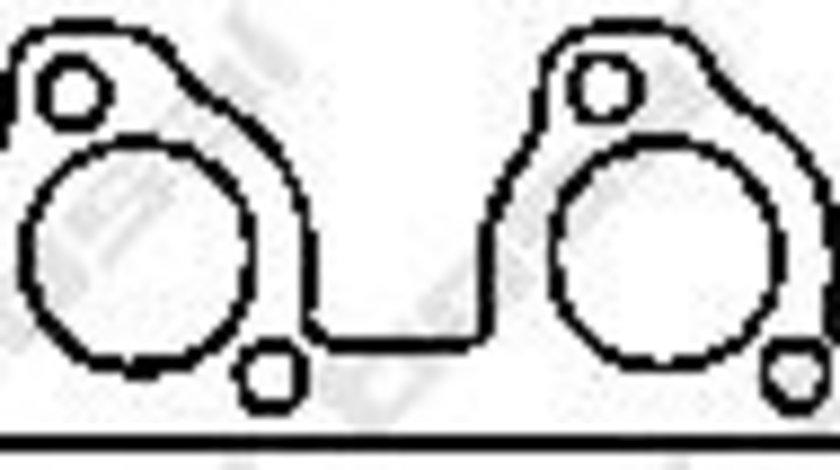 Garnitura, racord evacuare CITROEN C5 II Break (RE) (2004 - 2016) BOSAL 256-951 piesa NOUA