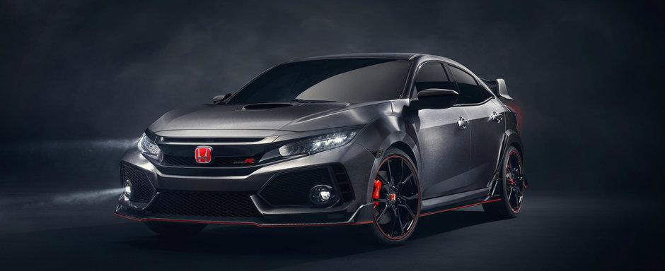 Gata! Asteptarea s-a terminat. Honda aduce noua Civic Type R in varianta finala la Geneva