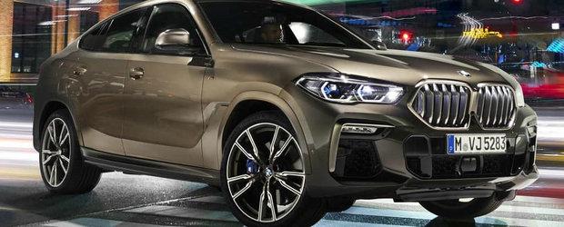 Gata cu asteptarea: ACESTA este noul BMW X6!