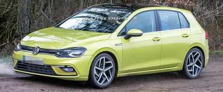 Gata cu asteptarea: ACESTA este noul Volkswagen GOLF 8!