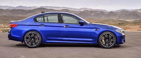 Gata cu asteptarea! ACESTA este primul M5 cu tractiune integrala din istoria BMW