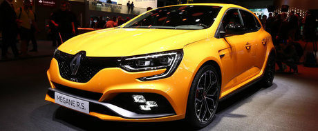 Gata cu asteptarea: avem primele POZE REALE cu noul Renault Megane RS!