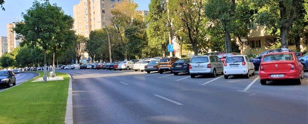 """Gata cu parcarile moca in Bucuresti. """"In aceasta maniera va fi extrem de usor sa nu mai avem banda unu ocupata"""""""