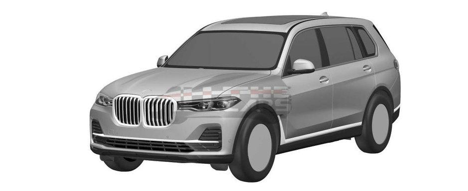 """Gata cu secretele: noul BMW X7 a """"pozat"""" fara niciun fel de camuflaj. Uite cum arata SUV-ul bavarez!"""