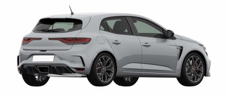 Gata cu secretele: noul Megane RS a pozat fara niciun fel de camuflaj. Uite cum arata hot-hatch-ul francez!