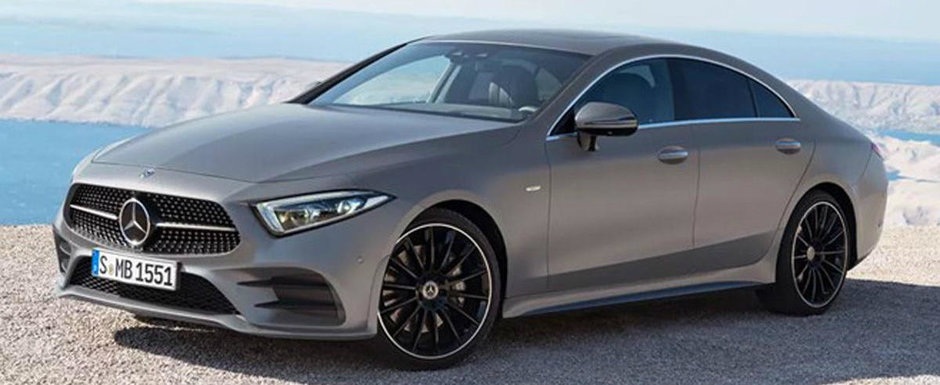 Gata cu secretele. Uite cum arata noul Mercedes CLS!